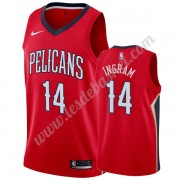 Maillot NBA New Orleans Pelicans 2019-20 Brandon Ingram 14# Rouge Statement Edition Swingman..