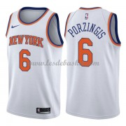 Maillot Basket Enfant New York Knicks 2018 Kristaps Porzingis 6# Association Edition..