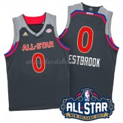 Maillot NBA Pas Cher West All Star Game 2017 Russell Westbrook 0# NBA Swingman..