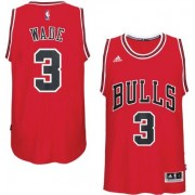 Maillot NBA Chicago Bulls 2017-18 Dwyane Wade 3# Road..